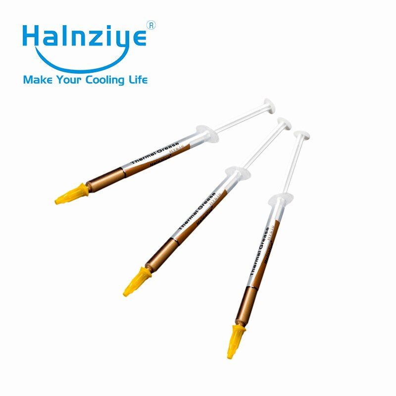Free Shipping !200pcs/lot 1g Gold CPU/VGA/RAM Clooer Heat Transfer Thermal Paste/Thermal Greas/Thermal Compound HY610