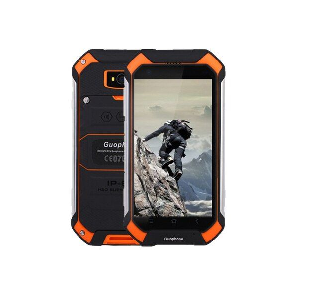 "2017 Upgrade V19 Original 4.5"" IP68 Waterproof Phone Rugged Android 5.1 Smartphone Quad Core mobile phone 2GB RAM 16GB ROM"