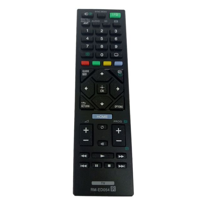 NEW Remote Control For Sony TV  RM-ED054 FOR SONY BR TV KDL-40HX750 KDL-46HX850 KDL-40HX758 KDL-40HX757 KDL-55HX753 KDL-46HX759