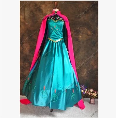 Disfraces elsa dress adult princess elsa costume snow white queen cosplay carnival costumes for women party dresses Custom