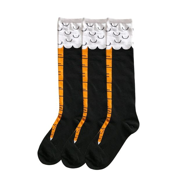 Women Chicken Funy socks High Long Socks Trendy Sexy Men Thin Toe Feet Ladies Creative Socks