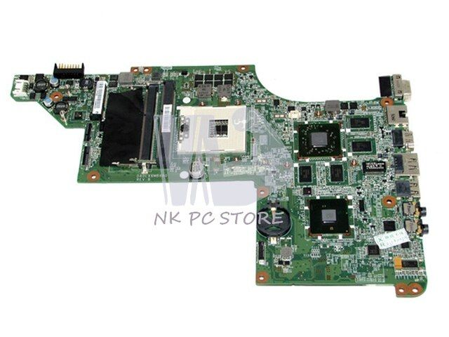 633554-001 Main Board For Hp Pavilion DV6-4000 DV6-3000 Laptop Motherboard ATI Graphics DDR3 HM65 DA0LX3MB8F0
