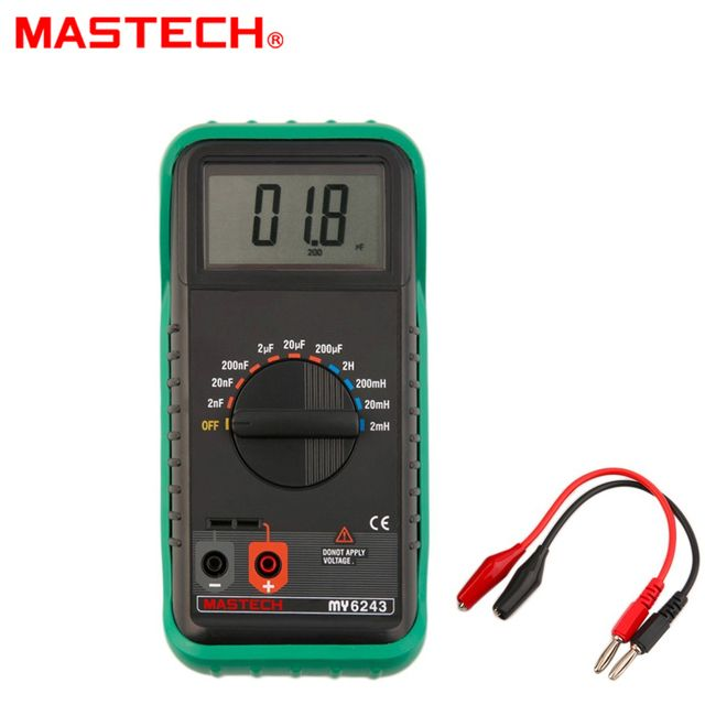 MASTECH MY6243 Digital C/L Capacitance Inductance Meter