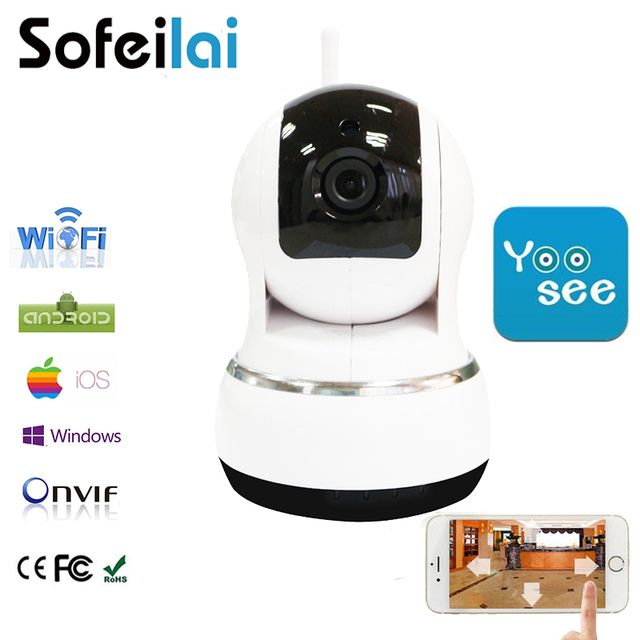 HD WiFi Wireless IP Camera  Home Security Surveillance pan tilt Night Vision CCTV Yoosee Cameras infrared  P2P IPCam
