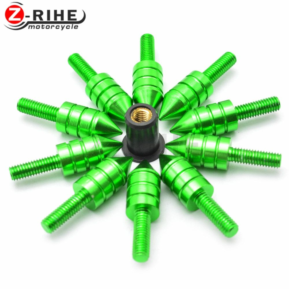 For Motorcycle Accessories Fairing Bolt Screw Fastener Fixation for ninja 300 yamaha mt-07 street glide fz6 zoomer grips