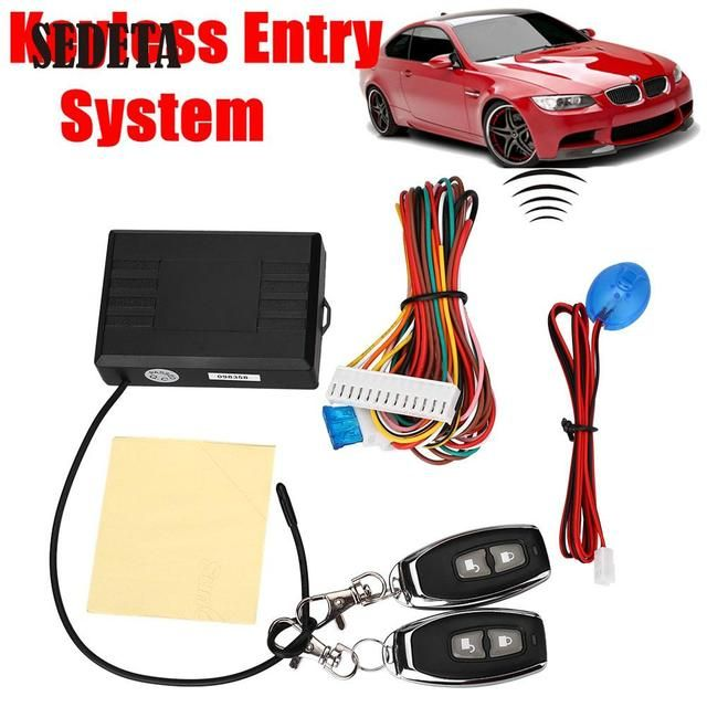 Auto Cars Remote Control Central Door Locks Locking Security Keyless Entry Kit