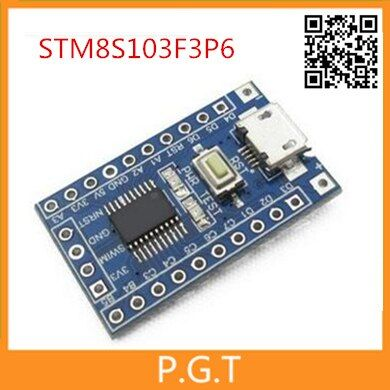 2pcs STM8S103F3P6 system board STM8S STM8 development board minimum core board for Arduino