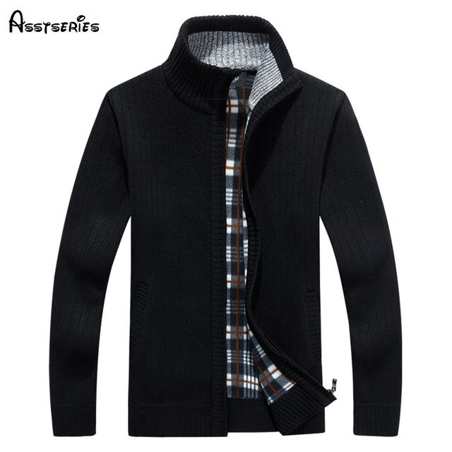 NEW ARRIVAL 2018 hot sale brand new men's sweaters with zipper fashion and casual sweater good quality pull homme 50
