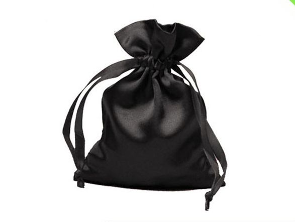 free shipping 100/pcs satin small drawstring bag size 11*15cm  jewelry bag wholesale custom gift pouch with logo for jewelry