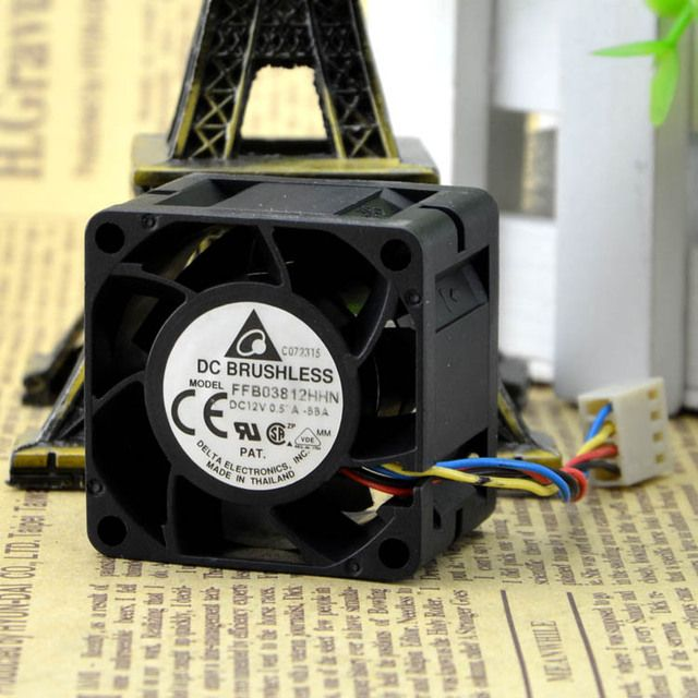 Genuine 12V 3828 0.57A 3.8CM/ FFB03812HHN cm PWM temperature control fan