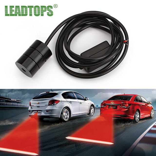 Warning Light Anti Collision Rear-end Car Laser Tail 12v Led car laser Light Auto Brake auto Parking Lamp Rearing car styling AJ