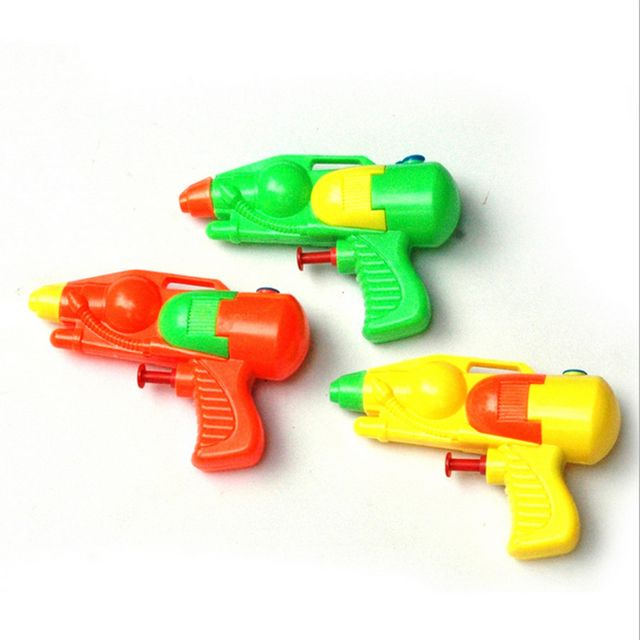 Lovely Classic Interesting Small Pressure Water Gun Pistol Children/Kids Favorite Beach Sand Toy Funny