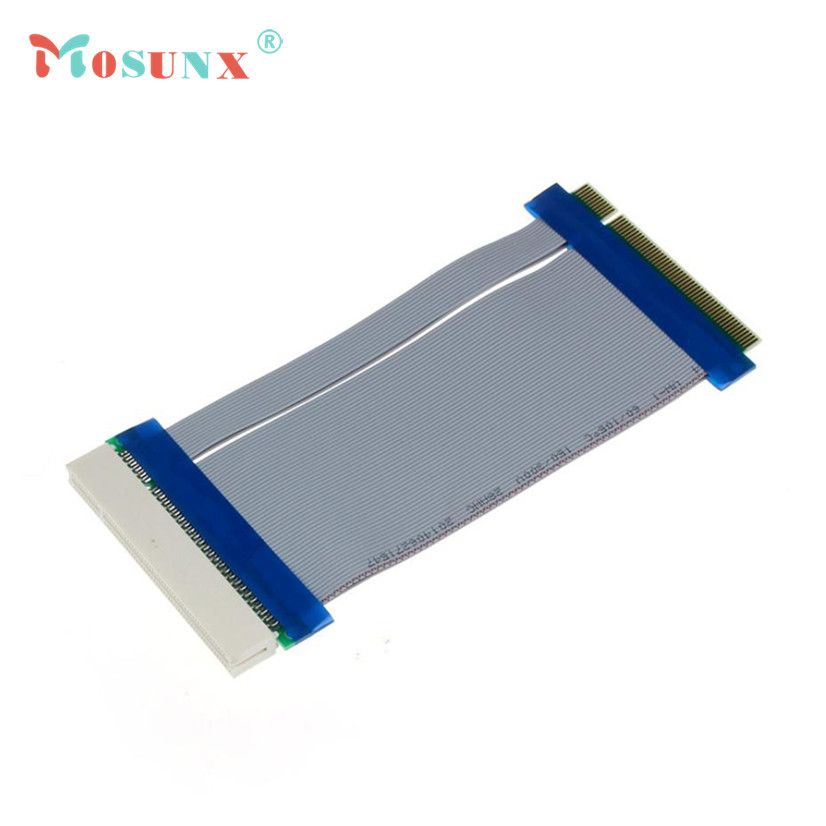 Factory Price Hot Selling 32 Bit Flexible PCI Riser Card Extender Flex Extension Ribbon Cable Drop Shipping Good Quality