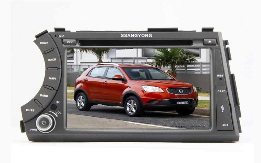 Free Shipping Android 5.1.1 Car DVD Player for SsangYong Kyron Actyon 2006 2007 2008 2009 2010 2011 2012 With Quad Core 16G