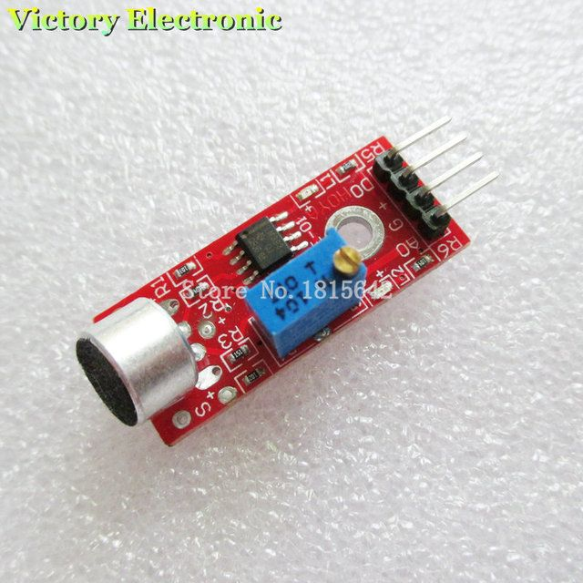 High Sensitivity Sound Microphone Sensor Detection Module For AVR PIC KY-037