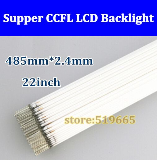 Free Shipping 150pcs/lot High Quality CCFL Lamp 485MM 2.4mm 22 inch wide CCFL LCD Backlight light  485 mm*2.4mm