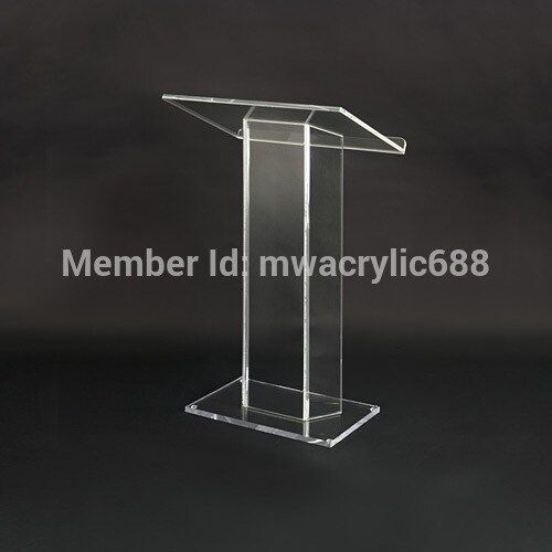 pulpit furniture Free Shipping Soundness Modern Design Cheap Acrylic Lectern acrylic podium