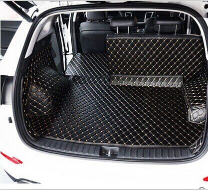 Best quality & Free shipping! Special trunk mats for Hyundai ix25 2017 Easy to clean waterproof boot carpets for ix25 2015