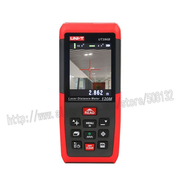 UNI-T UT396B Professional camera color Laser Distance Meters UT396B   0.05-80/120m