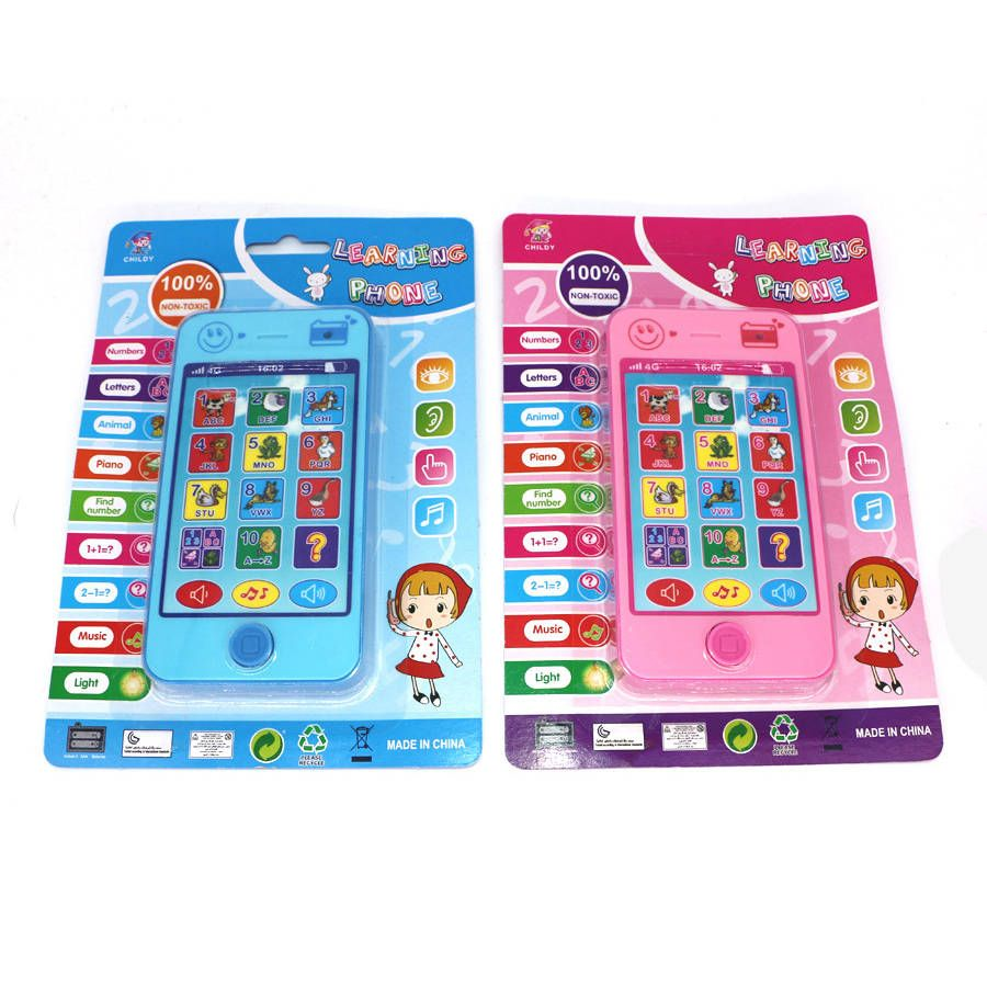 Change English Language Learning Machines Music English ABC Musical Learning Education Toys Phone Toys For Kids Christmas Gifts