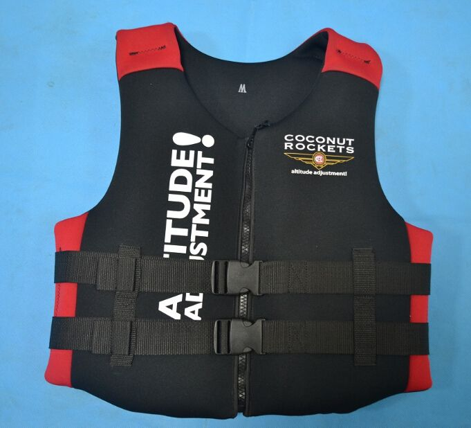 Best quality adult and kids life jackets life vest life-saving 100% NEOPRENE bear the weight of 50-120 kg surfing fishing vest