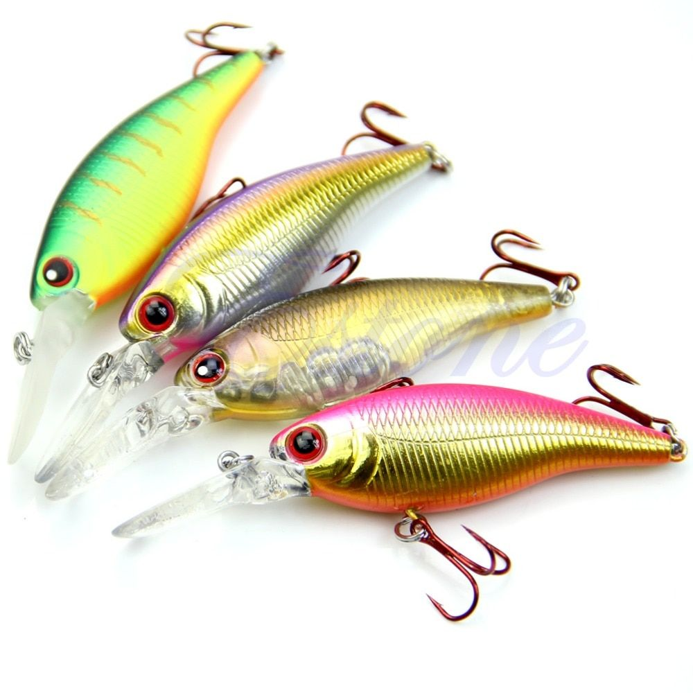 1pc Biomimetic 77g 155mm Fishing Lures Crankbait With Sharp Hook Tackle Treble