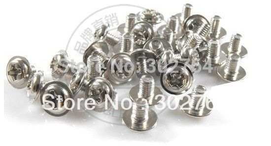 M3*12 1000pcs nickel plated,computer screw,round head with washer bolt,fastener electric component