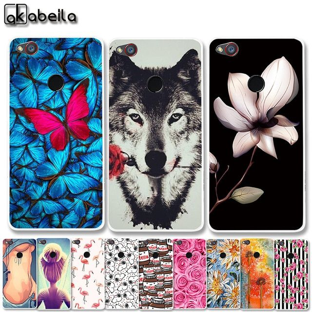 AKABEILA Soft TPU Plastic Phone Cases For ZTE Nubia Z11 mini S NX549J 4G LTE 5.2 inch Covers Nutella Flamingo Tetris Bags Shell
