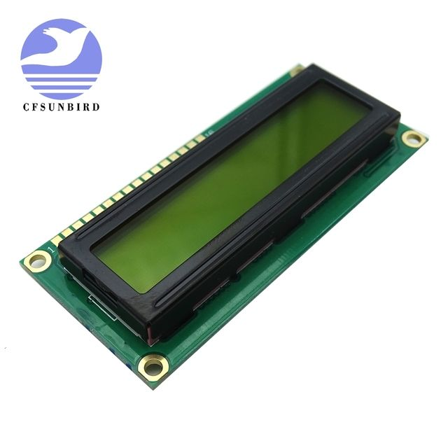 10PCS 1602 162 16*2 Character LCD Module Display / LCM with Yellow Green