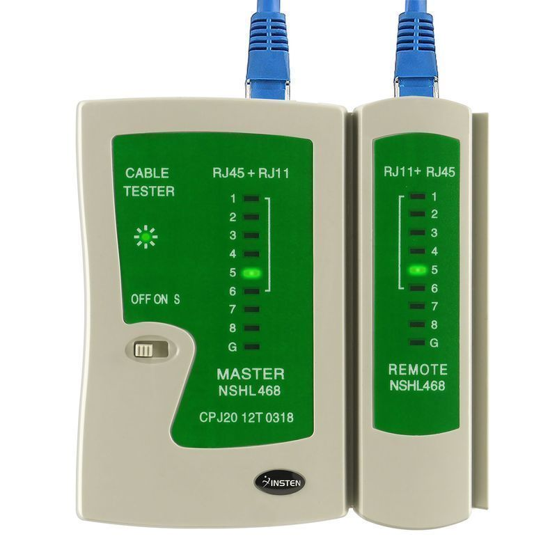 High Quality RJ45 RJ11 Cat5e Cat6 Network Cable Tester USB Lan Cable Tester RJ45 Tester Test Tool