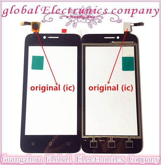 4.5 inch Cell Phone Touch Panel Touchscreen For Huawei Y560 Touch Screen Digitizer Front Glass Sensor Free Shipping