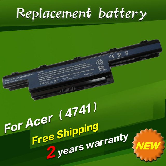 JIGU Laptop Battery for Acer Aspire 4738Z 4741Z 4743G 5250 5251 5252 7741Z 7551 5741Z 7741Z 7551 5741Z 5741 AS10D31 AS10D51