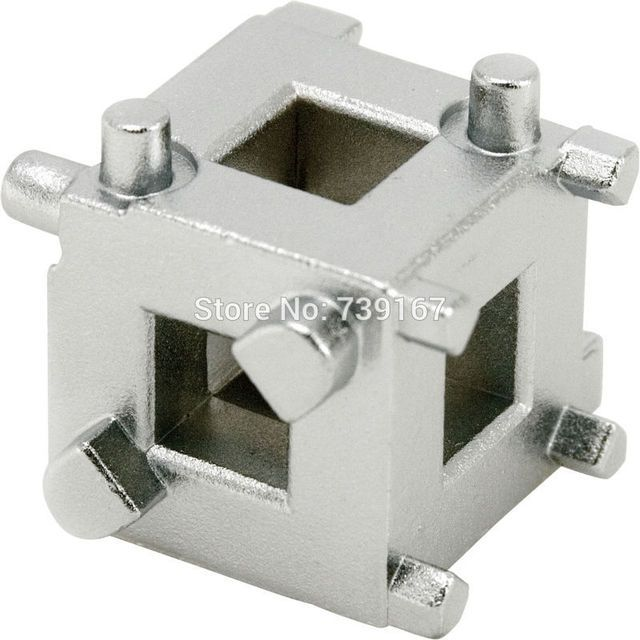 "Caliper Wind Back Disc Brake Piston Removal Cube For 3/8"" Drive ST0134"