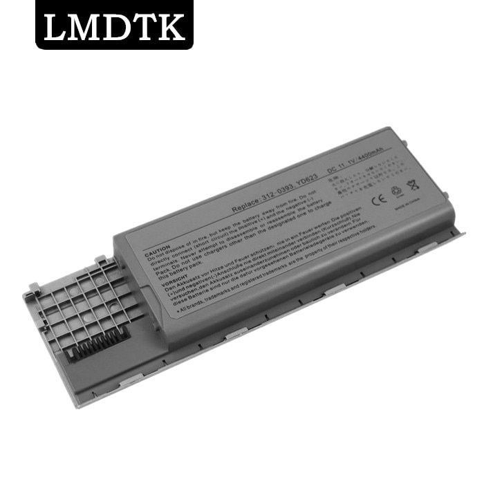 LMDTK New 6 CELLS laptop battery For Dell Latitude D620 D630  D630c D631 series 0GD775 0GD787 0JD605 0JD606 FREE SHIPPING