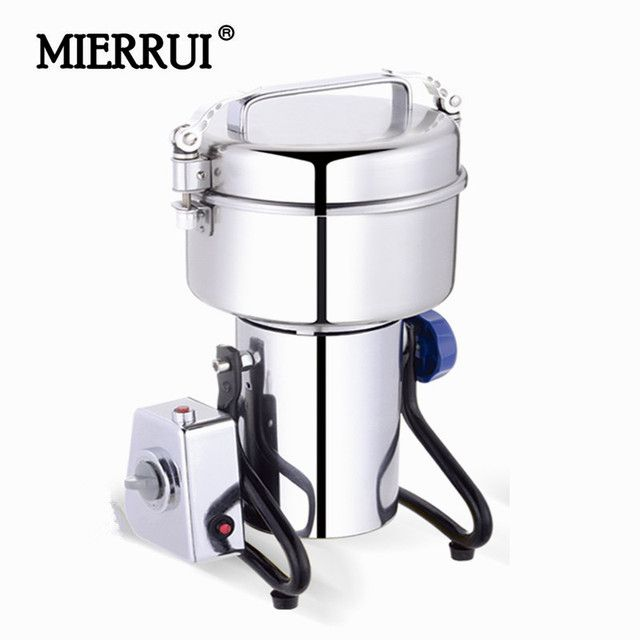 1500 High Capacity Flour grinder machine 110V/220V Nut Spice Grinder Electric Wheat Mill Swing type Spice Salt Pepper Mill
