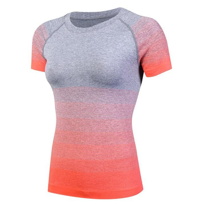 200p!Women Pro Wicking&Quick Drying T-Shirt,Elastin Compression Tight Short Sleeve Shirts,Slim&Anti Wrinkle