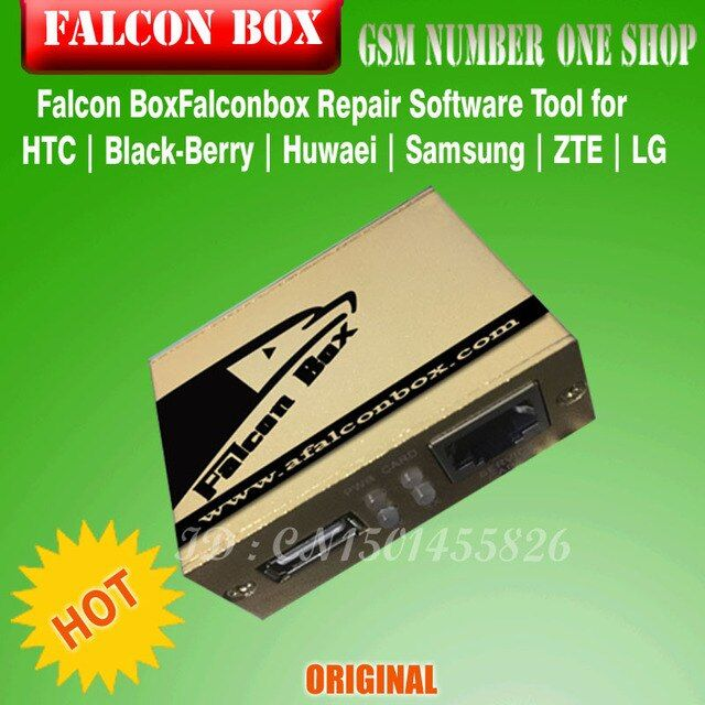 The Newest  version 100% Original Falcon Box Falconbox Repair Software Tool for HTC | Black-Berry | Huwaei | Samsung | ZTE | LG