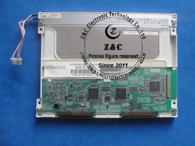 LTM08C351 LTM08C351S LTM08C351Y LTM084C351 Original A+ Grade 8.4 inch 800*600 LCD Display for Industrial by TOSHIBA