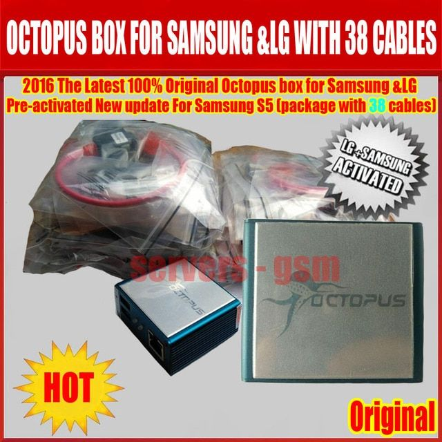 newest Octopus box full activation for Samsung for LG +39 cables unlock,repair,flash etc... Free Fast shipping