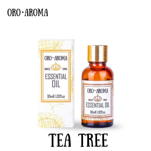 Famous brand oroaroma TEA TREE ESSENTIAL OIL  pure NATURAL TREATMENT ADULTS ORGANI Cargan Remove Acnes Whelks skin TEA TREE OIL