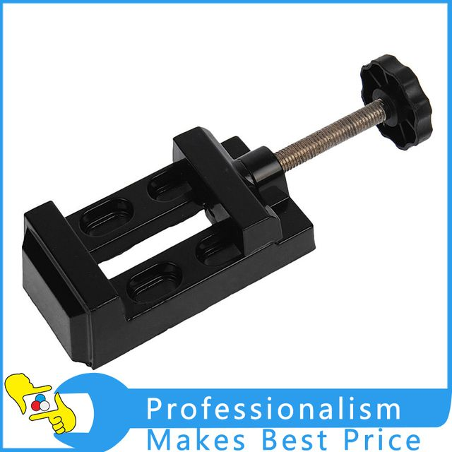 Alloy Table Vice Bench Screw Mini Bench Vise for DIY Jewellery Craft Mould Fixed Repair Tool Flat Mouth Vise Torno