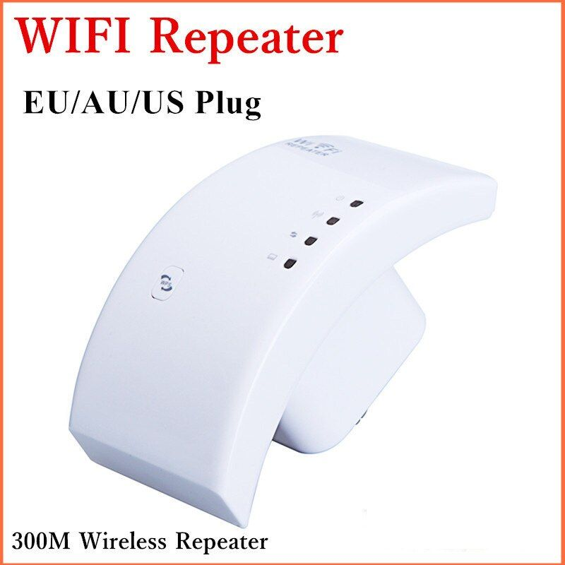 2pcs/lot 300M 802.11N Network AP repeater  In stock Wireless repeater Wifi WLAN Repeater Wi-Fi Router Range Extender