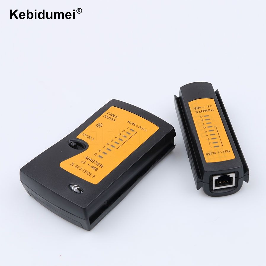 kebidumei Wire Tester  Network Cable USB RJ45 Wire Tester Test Double-twisted Cable Detector Tracker Tool kit