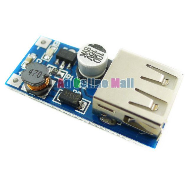 1PCS 0.9V-5V to 5V DC-DC USB Voltage Converter Step Up Booster Power Supply Module