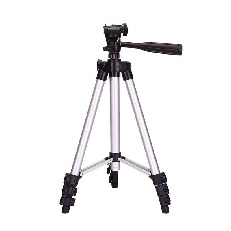 "350mm-1060mm(14""-42"")  Professional Aluminum Tripod With 3-Way  Universal Camera Tripod for Nikon Canon DSLR Camera Phone"