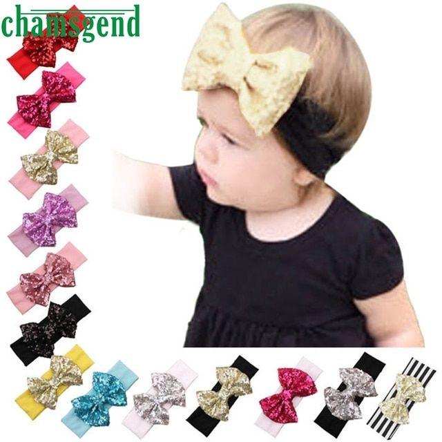 Hot Kids Girls Turban Headbands For Baby Winter Sports Headband Head Wrap Wide Yoga Hairband Elastic Hair Accessories JAN13GP
