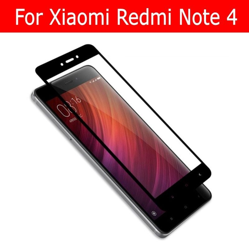 For Xiaomi Redmi Note 4 4x Tempered Glass For Redmi Note 4X Note4 Pro Glass Screen Protector Film Full Cover 2.5D Global Version