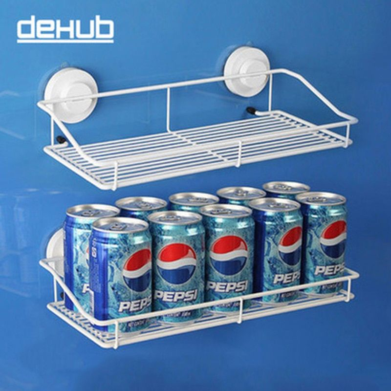 Stainless Steel Wall Mounted Kitchen Storage Racks Organizer  Kitchen Spice Organizer  Shelf  For Kitchen Organizer&Storage