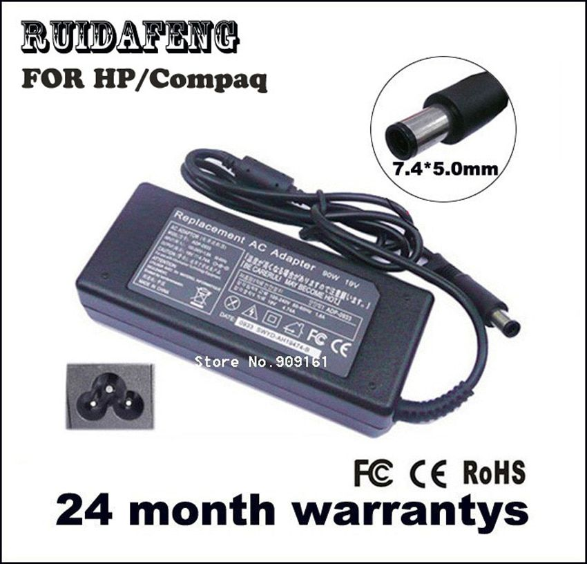 AC ADAPTER CHARGER FOR HP 19V 4.74A 90W 463955-001 609940-001 PPP012H-S Pavilion dv3 dv4 dv5 g4 g6 g7