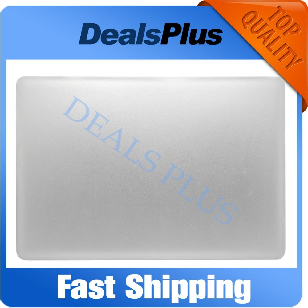 "95% New LCD Back Cover For Macbook Pro Unibody 17"" A1297 2011 Year Silver"
